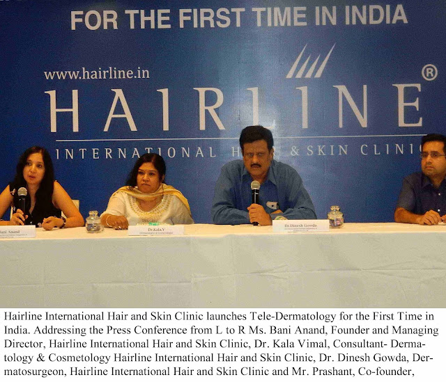 Hairline International Hair and Skin Clinic launches Tele-Dermatology for the First Time in India