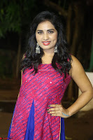 Srushti in beautiful Pink Sleeveless Dress Cute Actress Dimples ~  Exclusive 031.JPG