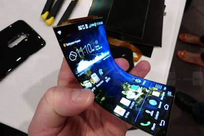 7 Strange Looking Phones in the World with amazing Features, LG G Flex