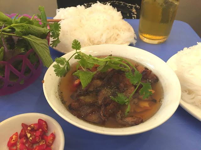 ブンチャー Bun cha vietnamese noodle
