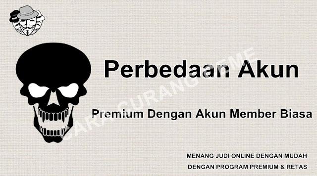 Perbedaan Akun Premium Dengan Akun Member Biasa