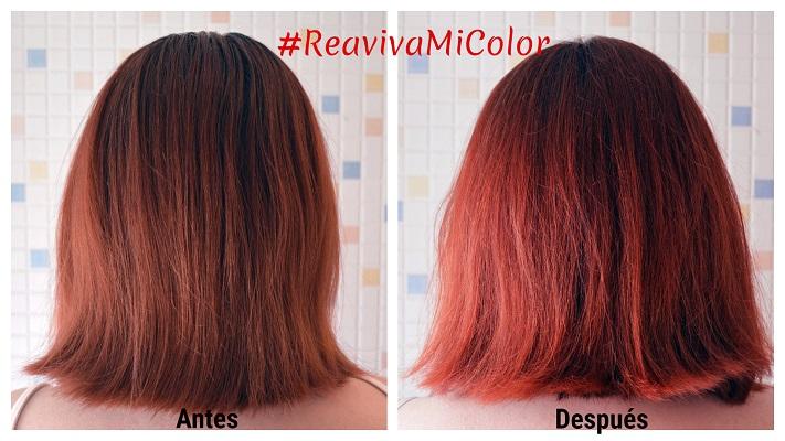 en general me parece una opcin interesante y sobre todo rpida y no invasiva pana reavivar el color de nuestro cabello entre las