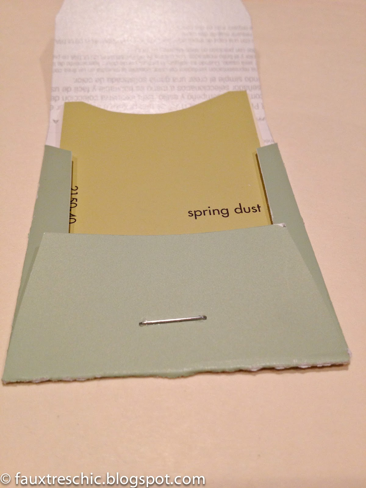 Spring Dust Color Swatch Sample From Benjamin Moore Just In Time For
