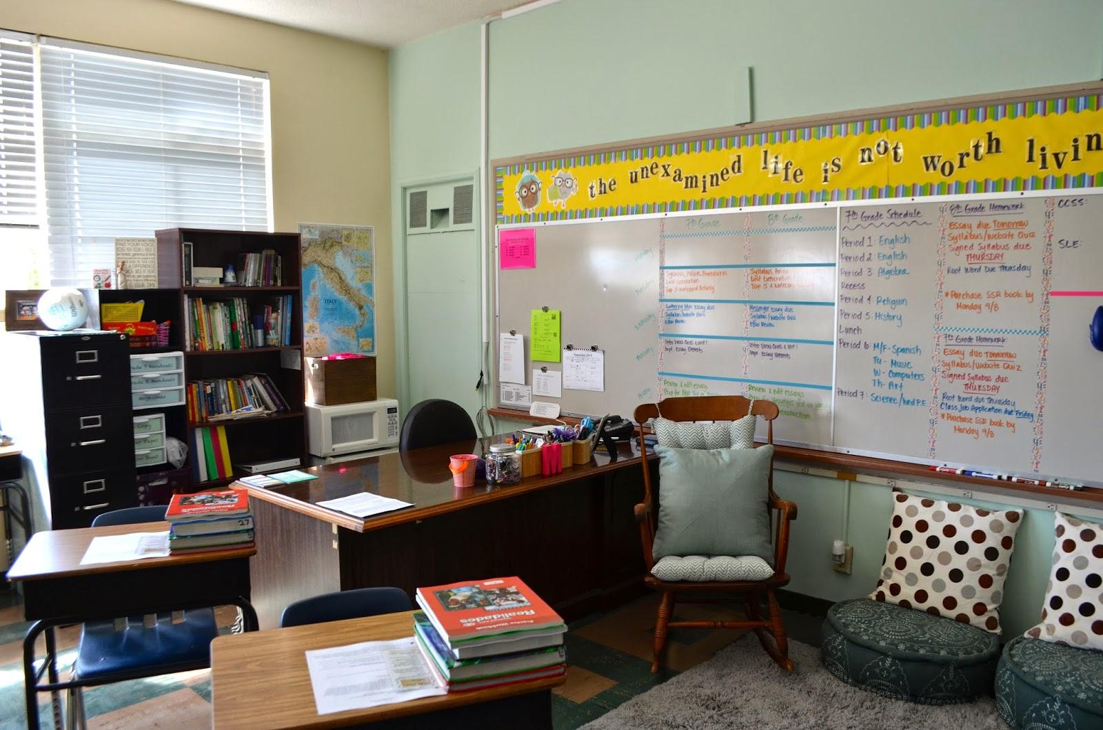 Middle School English Classroom Decor And Organization