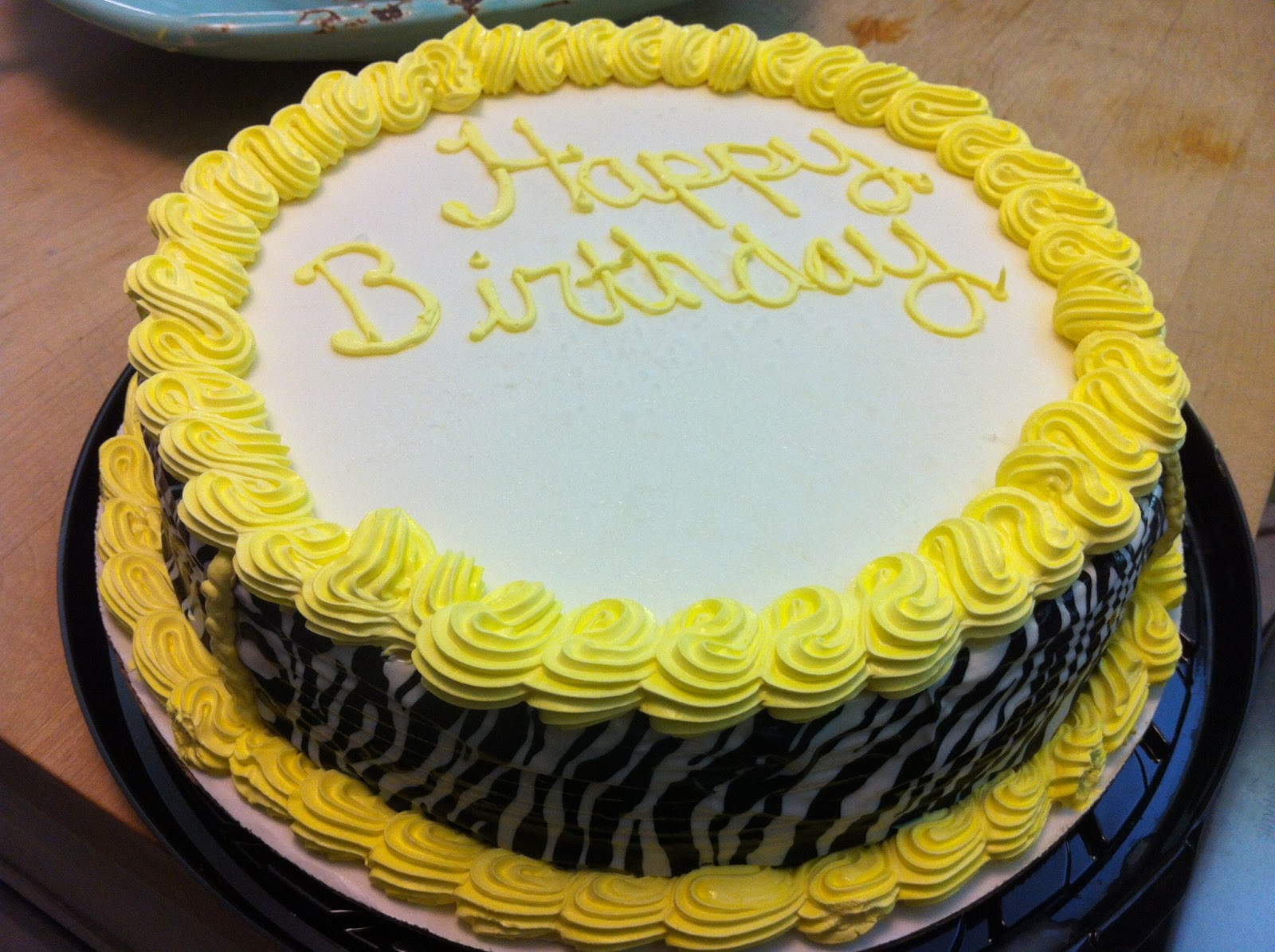 Zebra Cake Recipe Joy Of Baking: Lovin' Much!: Celebrating Caroline Faith