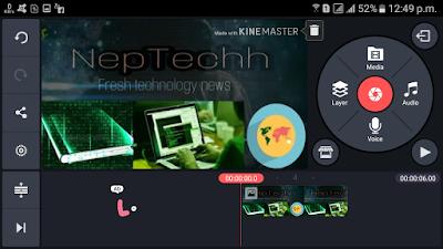 KineMaster video editor app