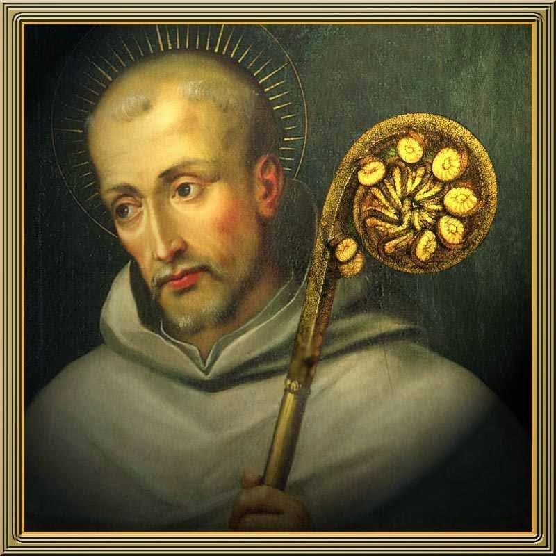 São Bernardo de Claraval, abade, taumaturgo, devotíssimo de Nossa Senhora e ardoroso pregador das Cruzadas
