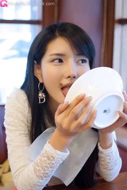 4 Lunch with Cha Sun Hwa-very cute asian girl-girlcute4u.blogspot.com