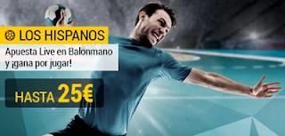 bwin promocion europeo balonmano hispanos 12-28 enero