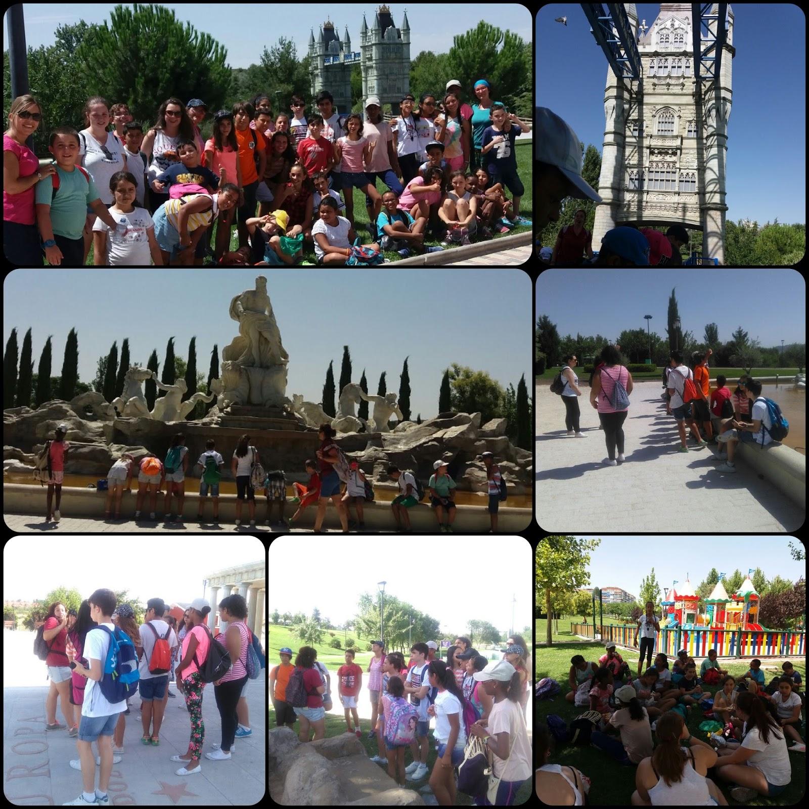 Cruz roja talavera visita al parque de europa con los y for Puerta del sol en directo ahora