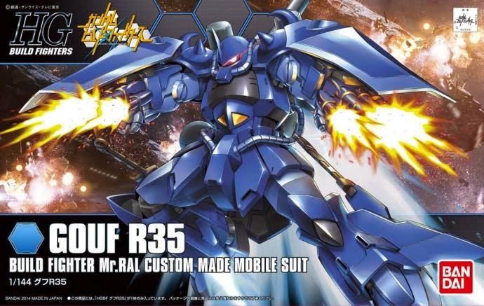 HGBF 1/144 Gouf R35 box art