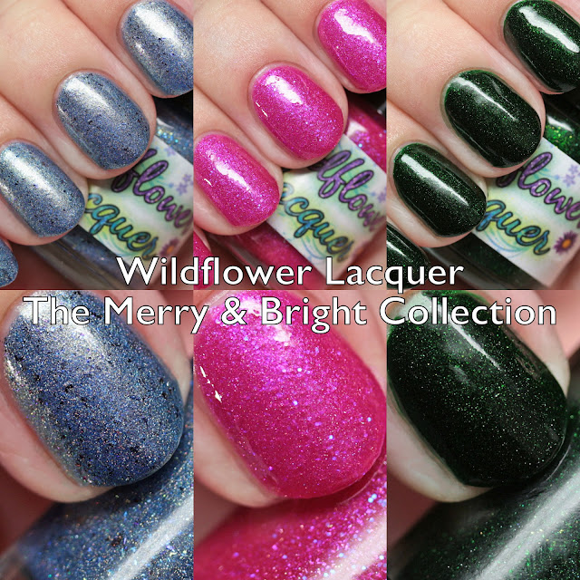 Wildlflower Lacquer Merry & Bright Collection