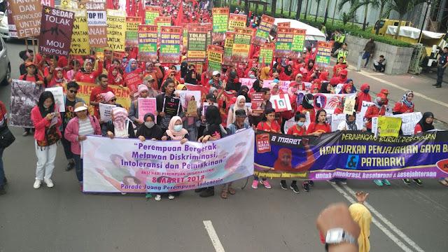 Hari Perempuan Sedunia: Stop Diskriminasi, Kekerasan, Intoleransi, dan Pemiskinan