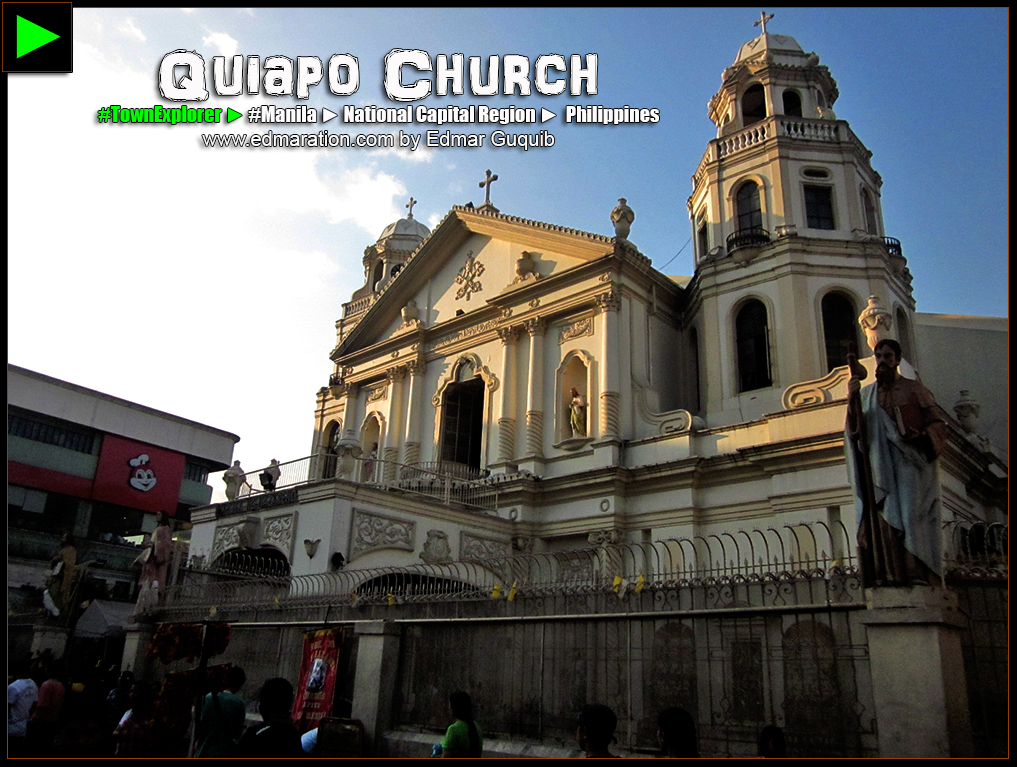 QUIAPO CHURCH, MANILA