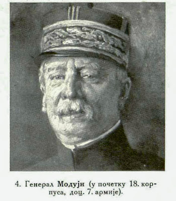 General Maud'hui (first 18th corps, later 7th Army.)