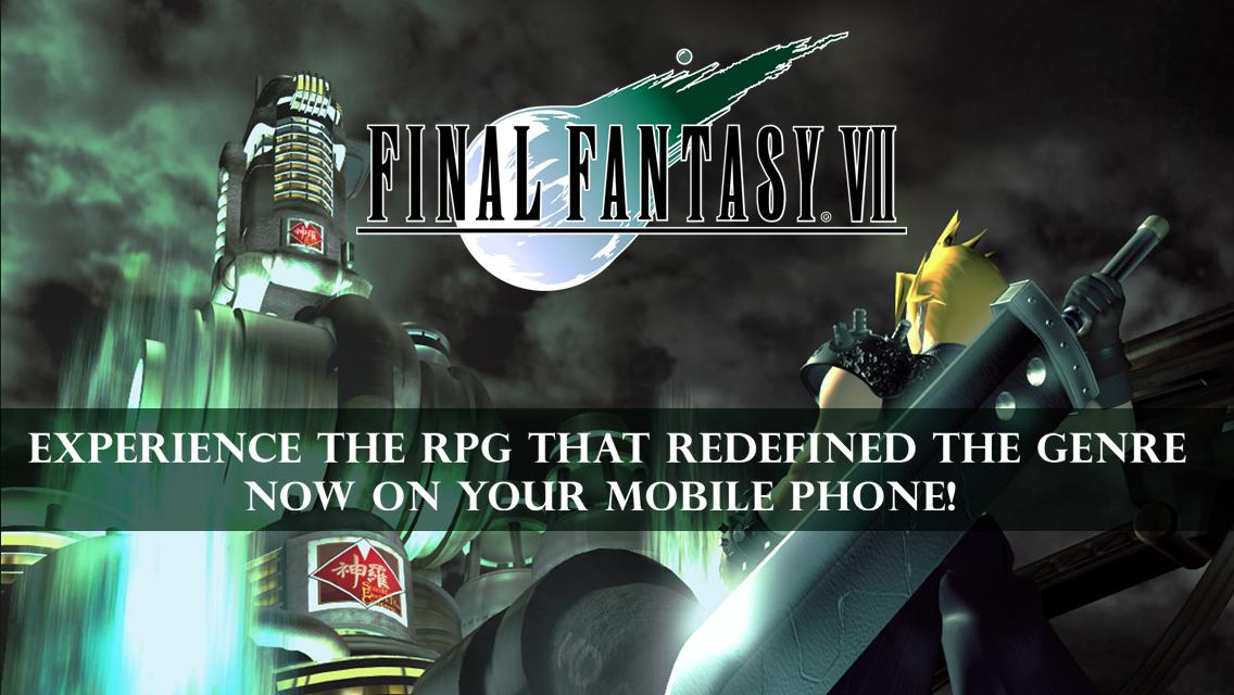 FINAL FANTASY 7 APK v1.0.11+Data (Paid) for Android