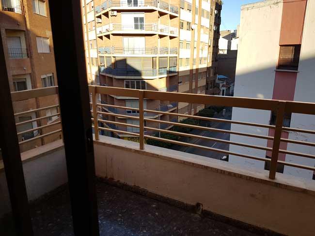 piso en alquiler ronda mijares castellon terraza