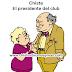 Chiste: El presidente del club
