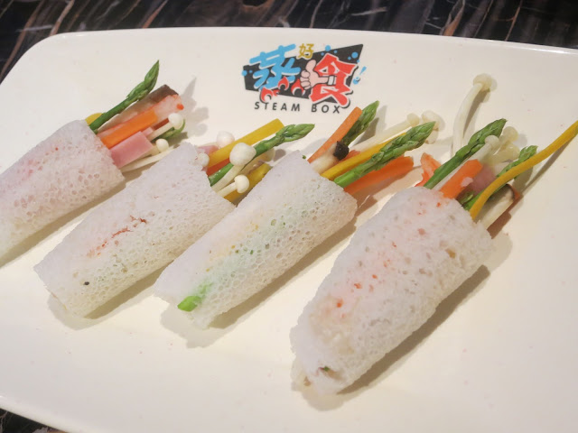 Bamboo Pith with Assorted Vegetables