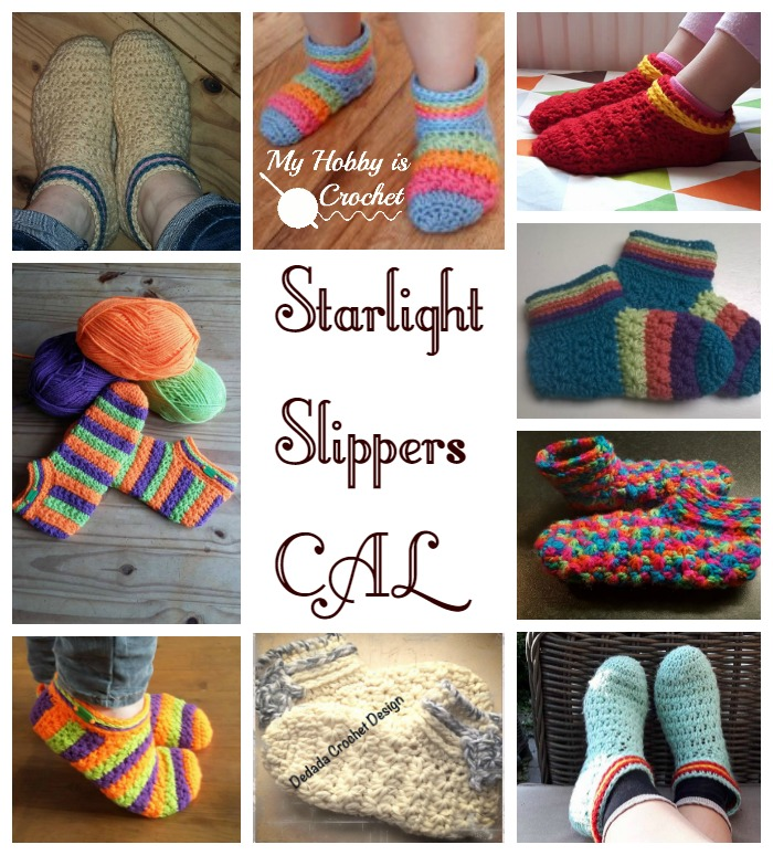 My Hobby Is Crochet Sterrenlicht Slippers Gratis Haakpatroon