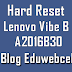 Hard Reset Lenovo A2016B30 Vibe B