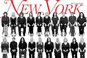 """Now he doesn't escape"": 35 victims Bill Cosby on the cover of New York Magazine"