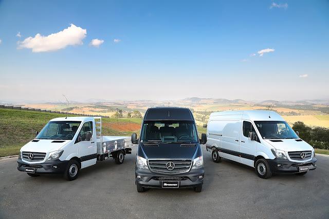 Mercedes lança planos de manutenção para Sprinter e Vito