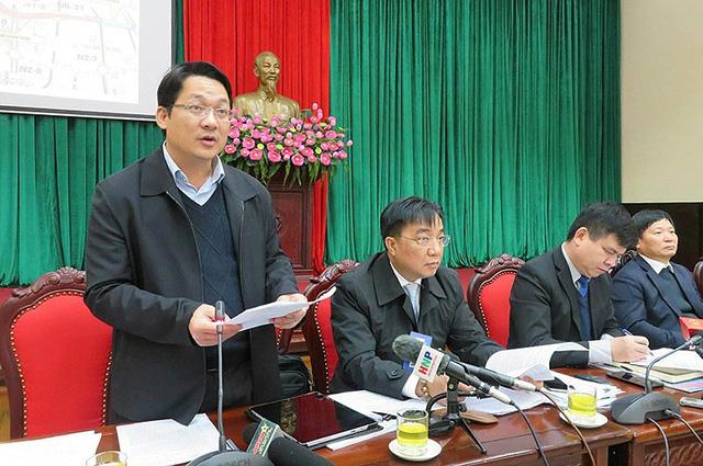 Ông Vũ Hà, Phó Giám đốc Sở GTVT Hà Nội.
