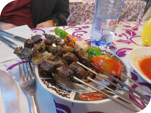 Long Weekend in Marrakech - Sidewalk Safari - Street Food Skewers