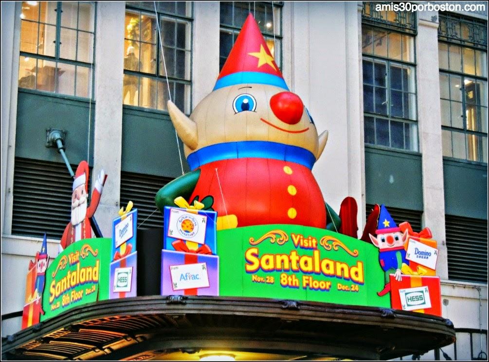 Escaparates de Navidad en Nueva York: Santaland en el Macy´s
