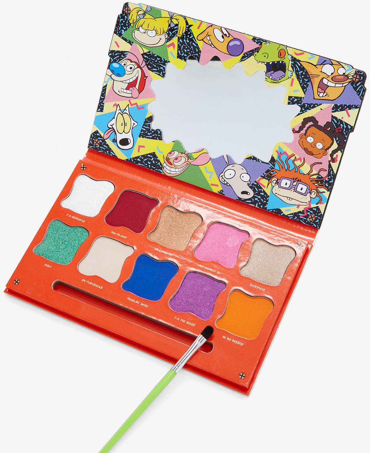 Rugrats Dog Life: NickALive!: Nickelodeon Has Made A '90s Nick Eye Shadow