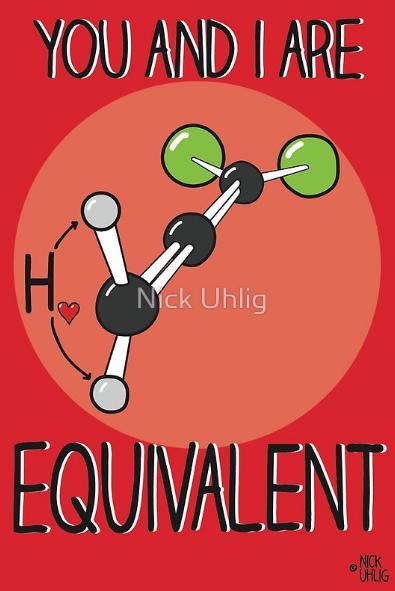 Chemistry Themed Valentineu0027s Day Cards
