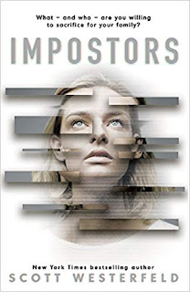 Impostors by Scott Westerfeld cover