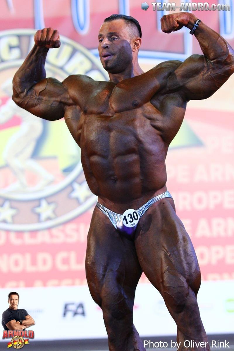 Muscle Lover: Syrian bodybuilder Wissam Ibrahim