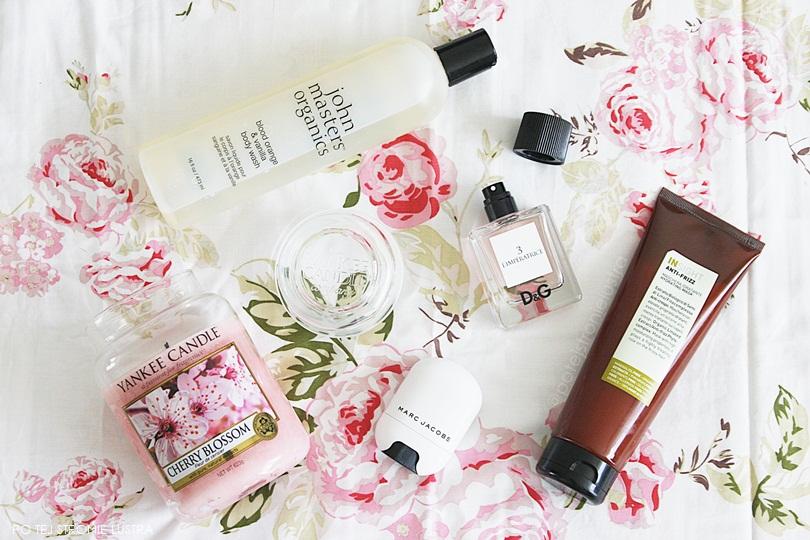 ulubione kosmetyki i zapachy na wiosnę