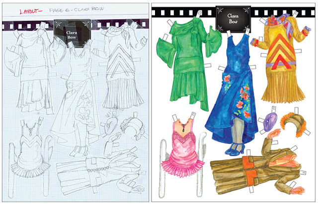 Silent Screen Stars Paper Doll Costumes