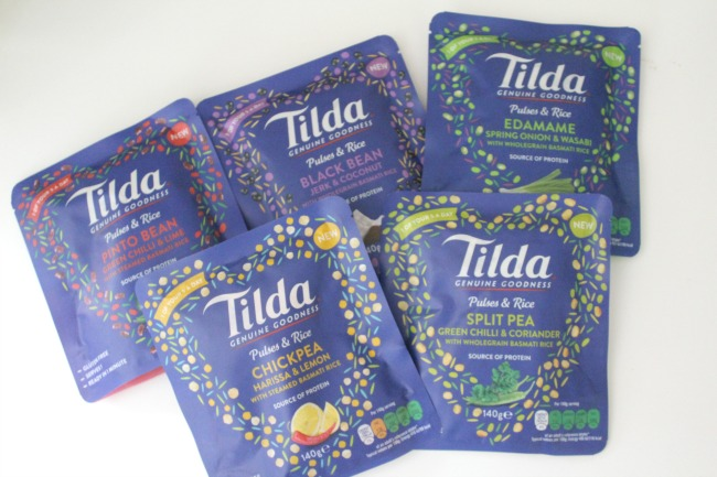 Overcoming anxiety-induced food fears with Tilda Rice and Pulses pouches. Nourish ME - www.nourishmeblog.co.uk