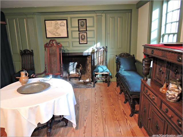 Museo Concord: Habitación Principios del s. XVIII