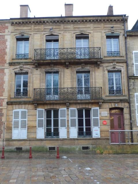 Maison familiale d'Arthur Rimbaud, à Charleville