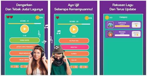 game tebak musik atau lagu di android