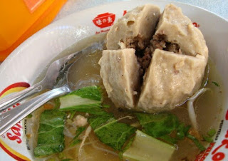Resep dan cara membuat bakso isi daging sapi cincang