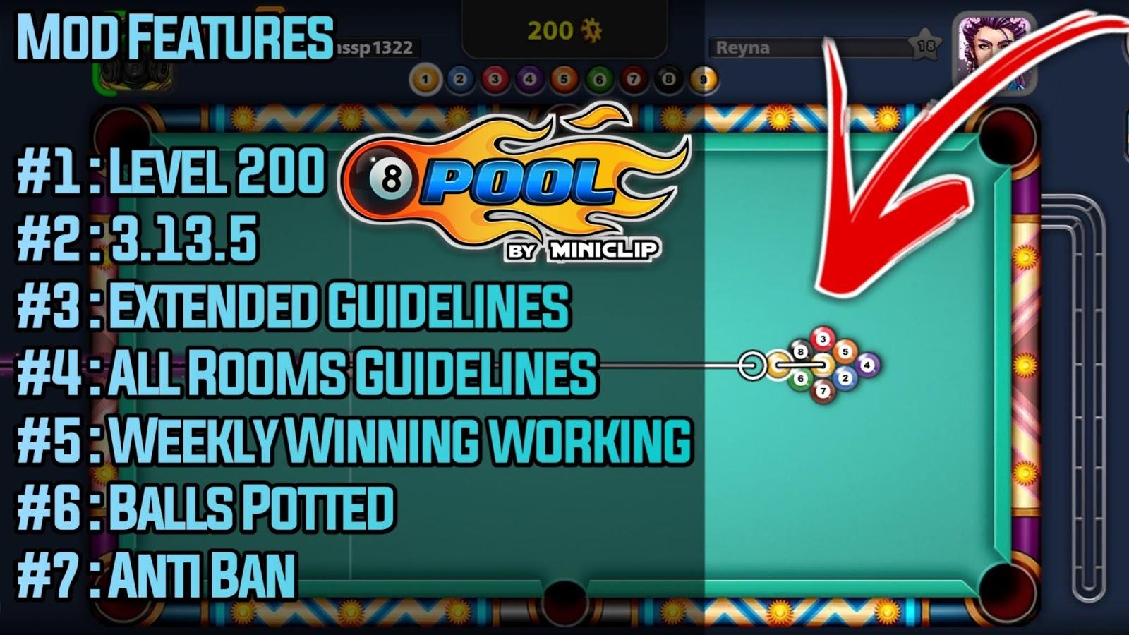 Download 8 Ball Pool Mod Apk- Get Unlimited[Mods/Money/Cheats]