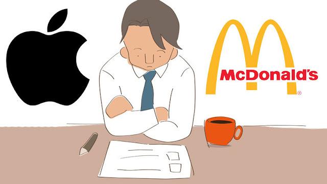 Los programadores de Apple ganan más que McDonalds