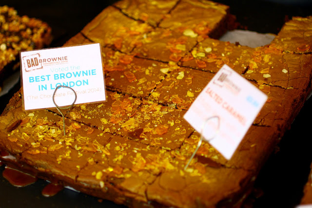 Foodies Festival, Syon Park - apparently the best brownies n London from Bad Brownie