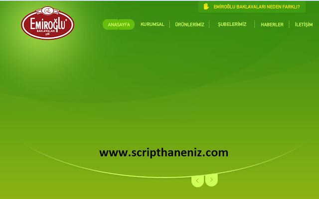 ASP Tatlıcı Scripti İndir