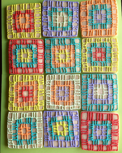 Sweet Jenny Belle - sugar cookies - boye yarn - snap conference 2016