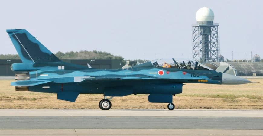 Pesawat tempur F-2 Jepang jatuh pilot ditemukan dalam keadaan hidup