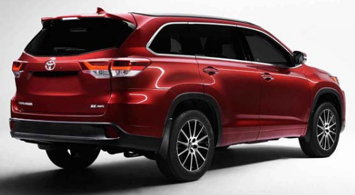 2018 Toyota Highlander Changes