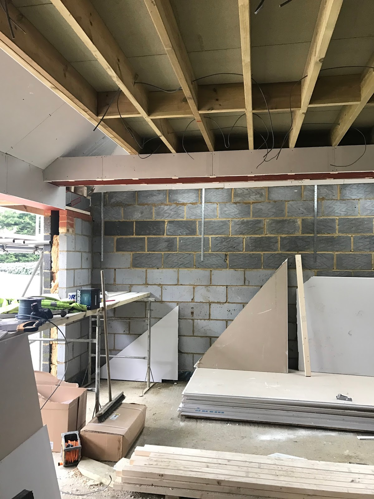 House Utility Room Extension Insulation Project