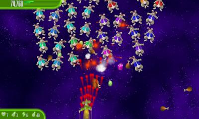 لعبة Chicken Invaders 4 مهكرة للأندرويد، لعبة Chicken Invaders 4 كاملة للأندرويد
